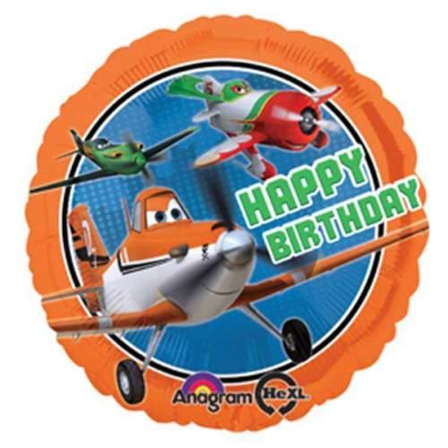 Μπαλόνι Αεροπλάνα Disney 'Happy Bday'
