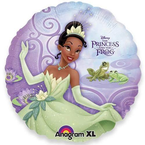 Μπαλόνι Πριγκίπισσα και βάτραχος μωβ