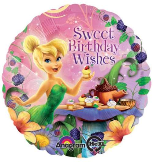 Μπαλόνι Tinkerbell 'Sweet bday wishes'
