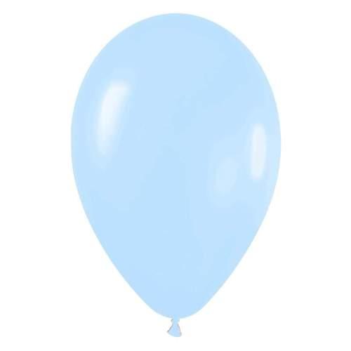 9'' Παστέλ Γαλάζιο λάτεξ μπαλόνι