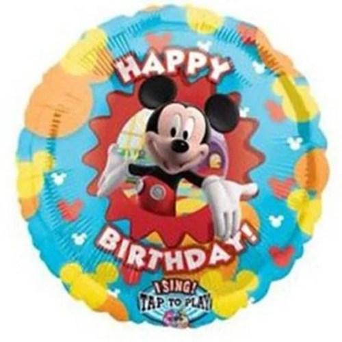 Μπαλόνι για γενέθλια Mickey Mouse μουσικό