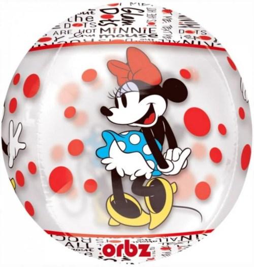 Mπαλονι Minnie Mouse Διάφανο ORBZ