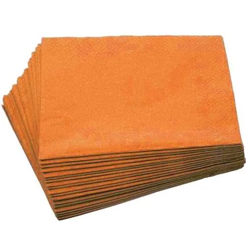 Χαρτοπετσέτες Πορτοκαλί (24 τεμ)