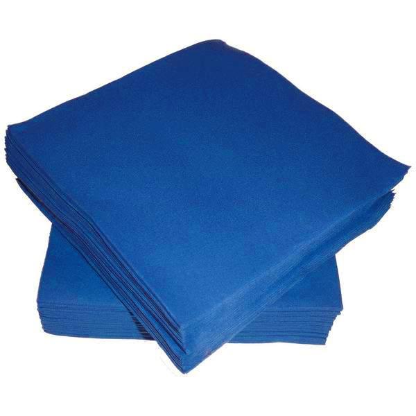 Χαρτοπετσέτες μπλε (50 τεμ)