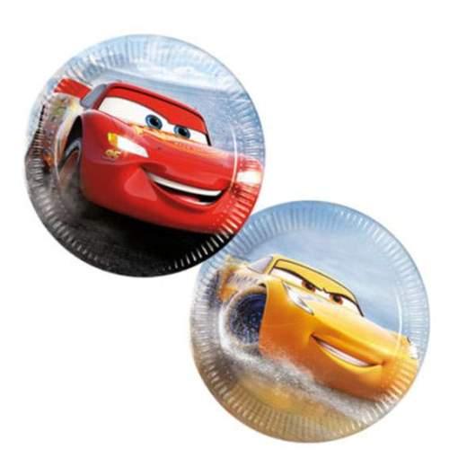 Πιάτα cars μικρά (8 τεμ)