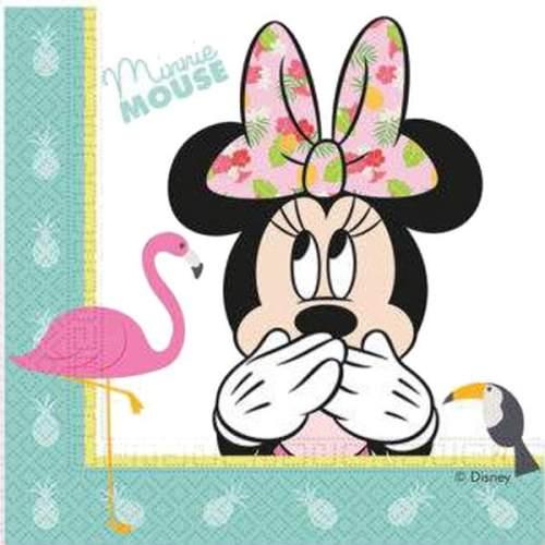 Χαρτοπετσέτες Minnie Tropical (20 τεμ)