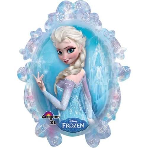 Μπαλόνι Καθρέπτης Frozen Elsa & Anna 78 εκ