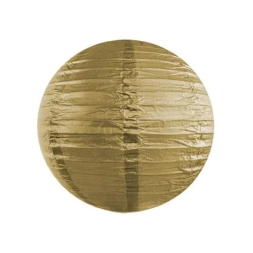 Χρυσό διακοσμητικό χάρτινο φαναράκι