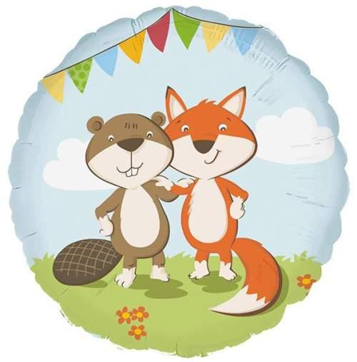 Μπαλόνι Αλεπού και κάστορας