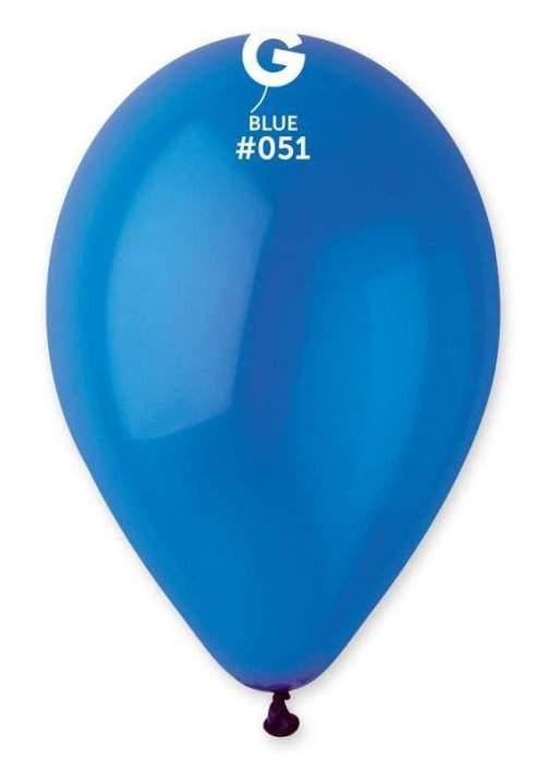 "13"" Crystal Μπλε λάτεξ μπαλόνι"