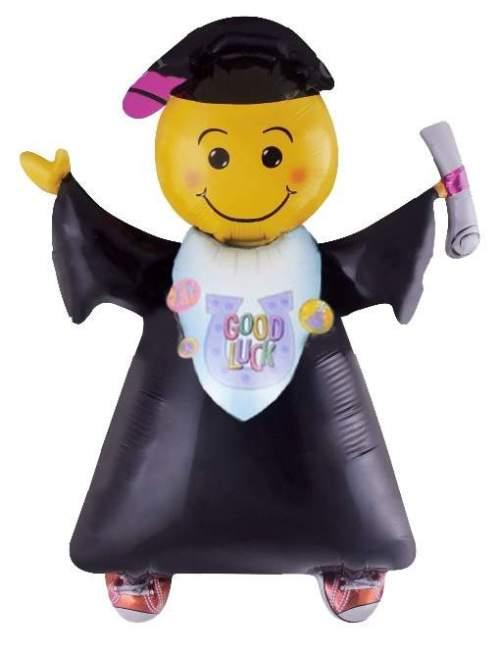 Μπαλόνι για αποφοίτηση ανθρωπάκι με τήβενο