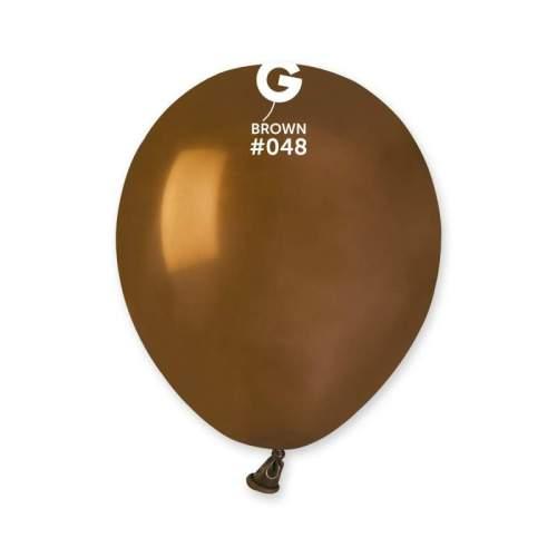 5'' Καφέ λάτεξ μπαλόνι