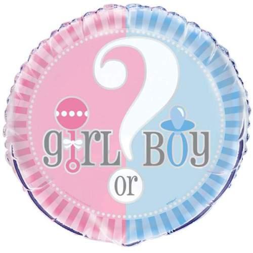 Μπαλόνι γέννησης Girl or Boy