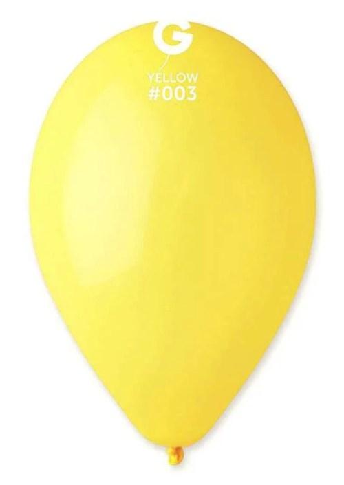 13'' Κίτρινο goldenrod λάτεξ μπαλόνι