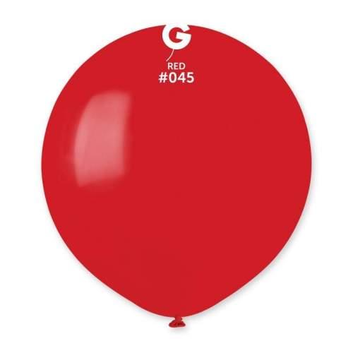 48cm - 19'' Κόκκινο μεγάλο μπαλόνι