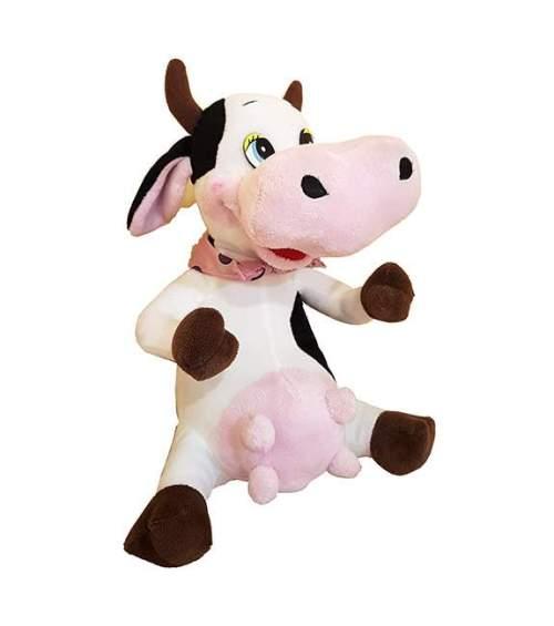 Λούτρινη Αγελαδίτσα με μαντήλι