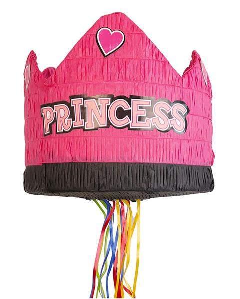 Πινιάτα για πάρτυ κορώνα princess
