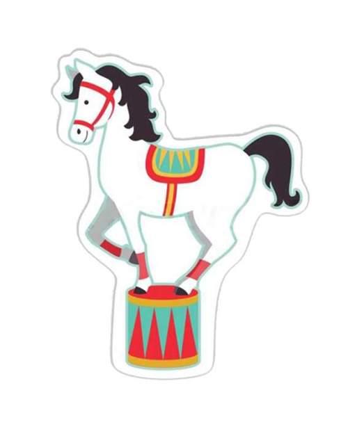 Διακοσμητική φιγούρα Circus άλογο
