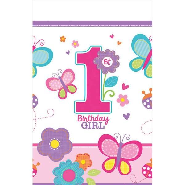 Τραπεζομάντηλο 1st Birthday Girl 259 εκ