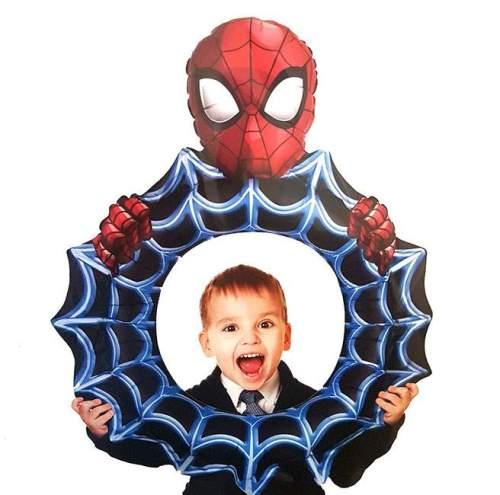 Μπαλόνι Ιστός Spiderman για selfie