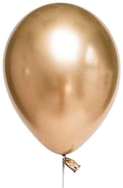 12'' Shiny Χρυσό λάτεξ μπαλόνι