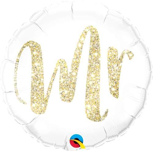 Μπαλόνι Mr χρυσό γκλίτερ