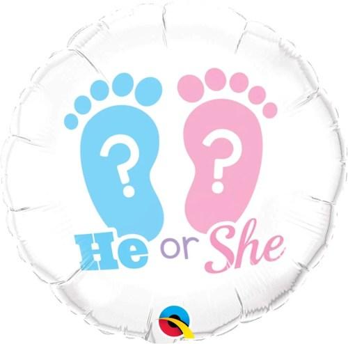 Μπαλόνι γέννησης He or She