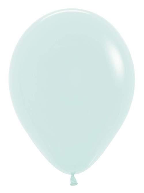 """12"""" Παστέλ ματ Πράσινο λάτεξ μπαλόνι"""