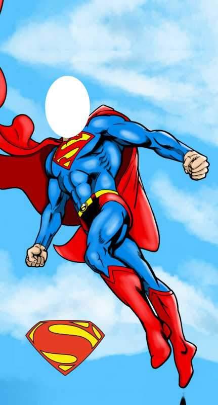 Αφίσα πόρτας Superman