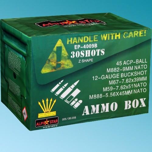Πυροτεχνήματα 30 βολών Ammo Box