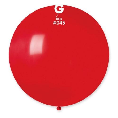 """80cm - 31"""" Κόκκινο μεγάλο μπαλόνι"""
