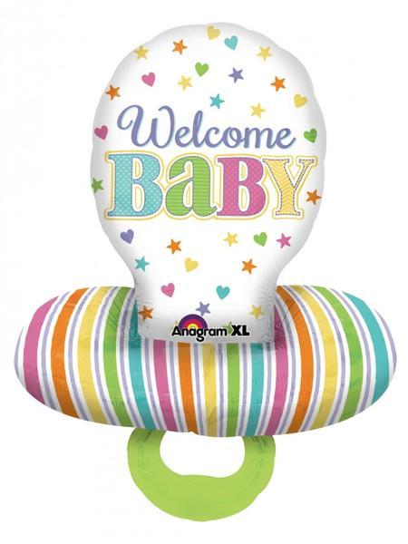 Μπαλόνι πιπίλα Welcome Baby 76 εκ