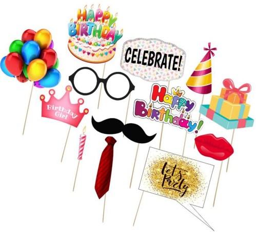 Στικάκι Photo booth Happy Birthday