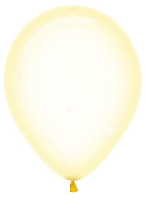"12"" Pure Crystal Κίτρινο λάτεξ μπαλόνι"