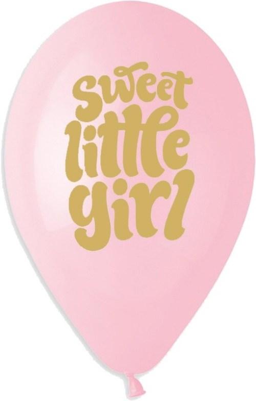 """13"""" Μπαλόνι Sweet little Girl"""