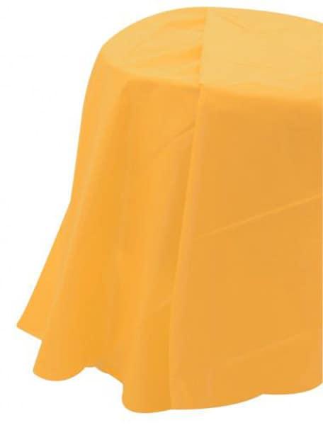 Τραπεζομάντηλο πλαστικό κίτρινο 2,13μ