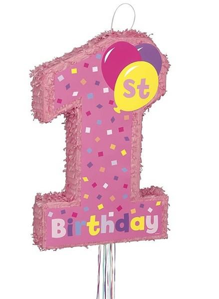 Πινιάτα Πρώτα γενέθλια Κορίτσι