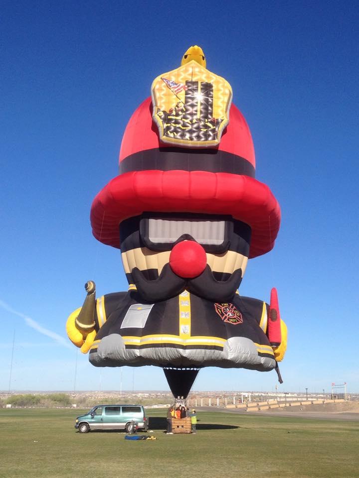Fireman Balloon