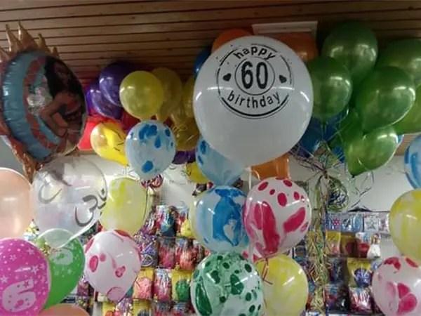 leeftijd verf vlekken helium ballonnen - The Balloon Factory