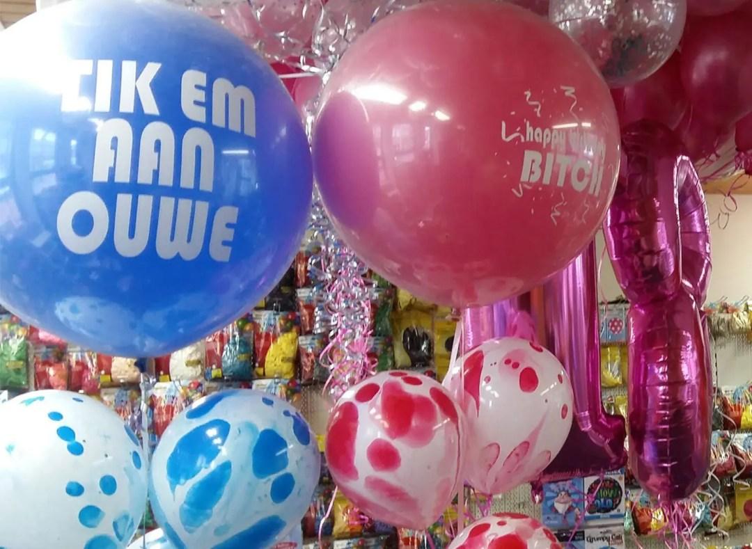 Leeftijd Reuze Heliumballonnen 18