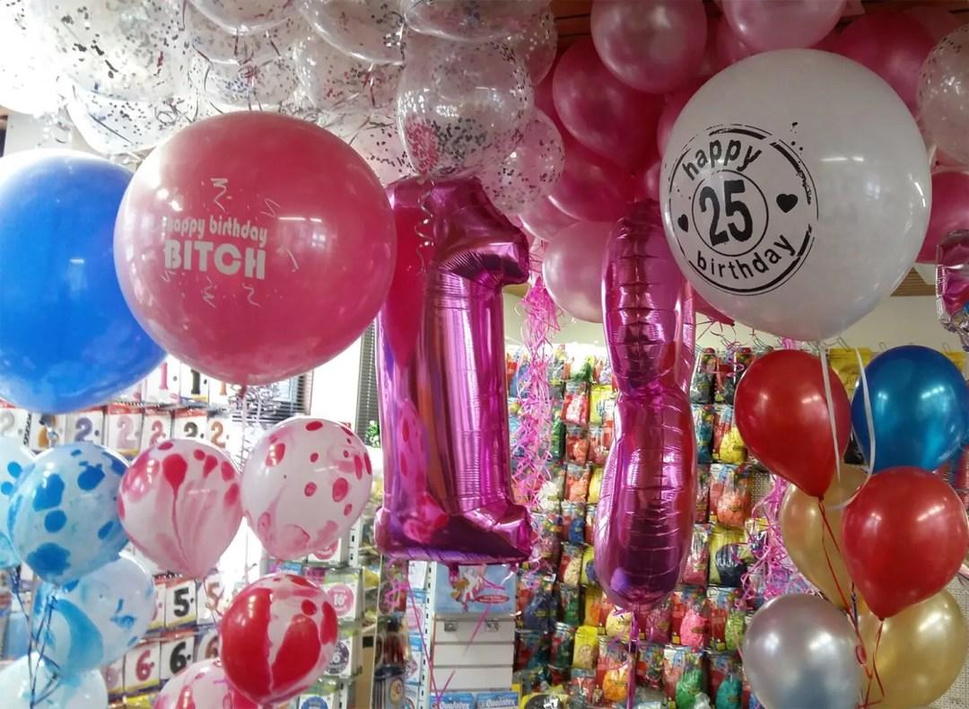 Leeftijd Reuze Heliumballonnen 19