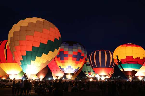 Image result for albuquerque balloon fiesta glow