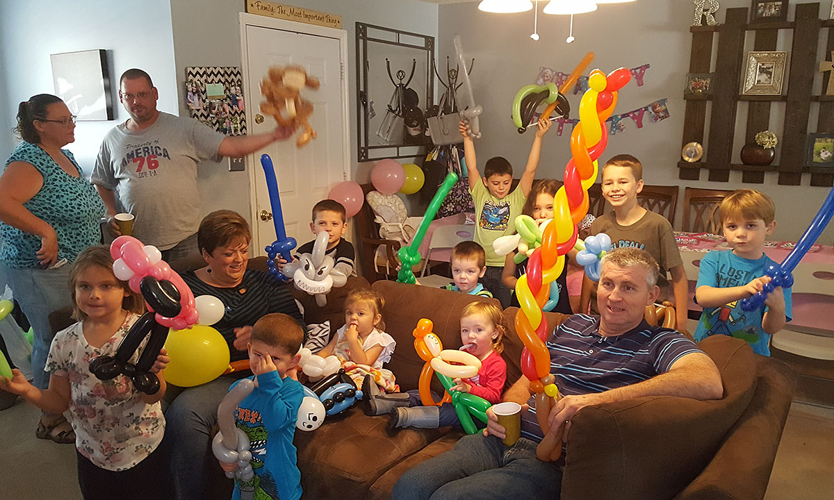 Birthday Party With Balloons By Balloonopolis Columbia SC