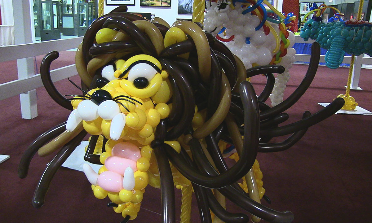 State Fair balloon lion, by Balloonopolis, Columbia, SC - gallery