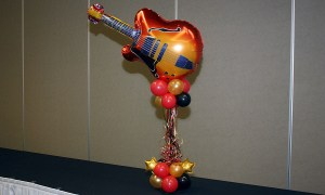 You're a Rockstar! Balloon Buffet Decor, by Balloonopolis, Columbia, SC