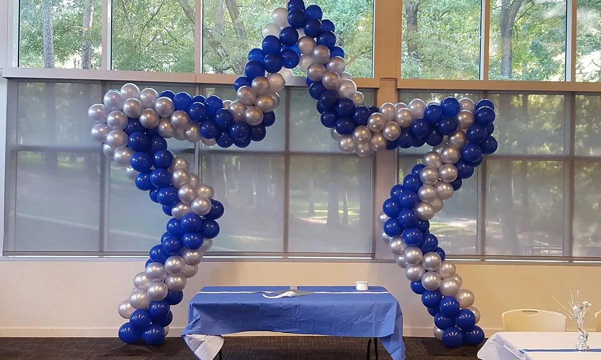Star Balloon Arch   Balloonopolis