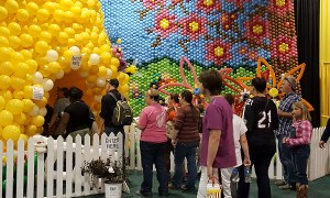 Balloon beehive for State Fair of South Caroliina, Balloonopolis, Columbia, SC
