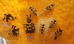 Balloon Queen Bee, State Fair of South Carolina, by Balloonopolis, Columbia, SC