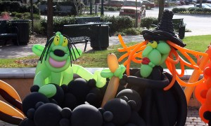 Halloween Balloon Witch, by Balloonopolis, Columbia, SC
