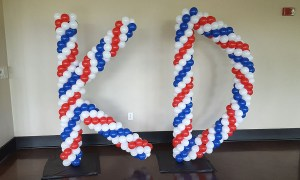 Balloon KD, Balloon Numbers and Letters, by Balloonopolis, Columbia, SC